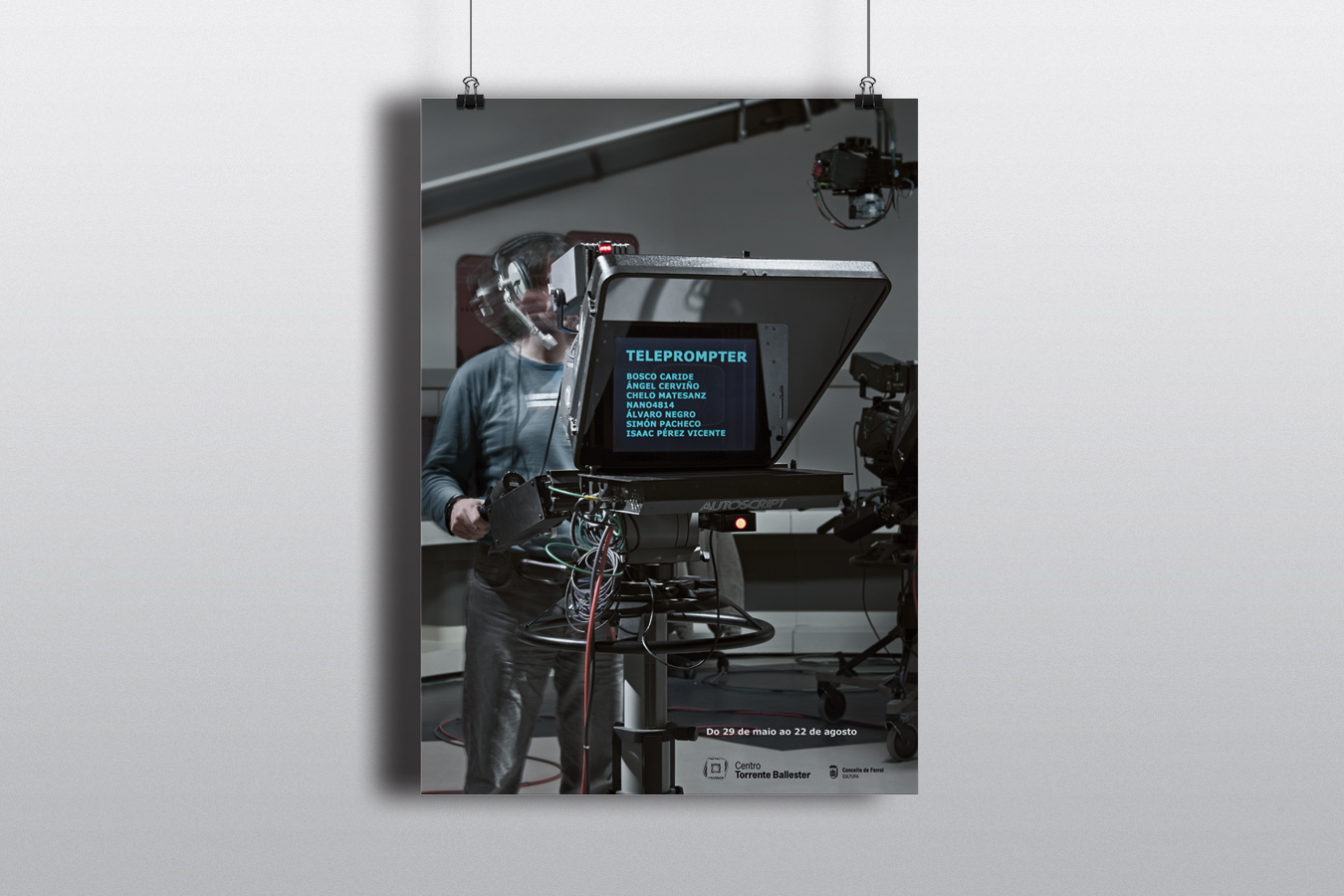 CTB Expo Teleprompter - cartel