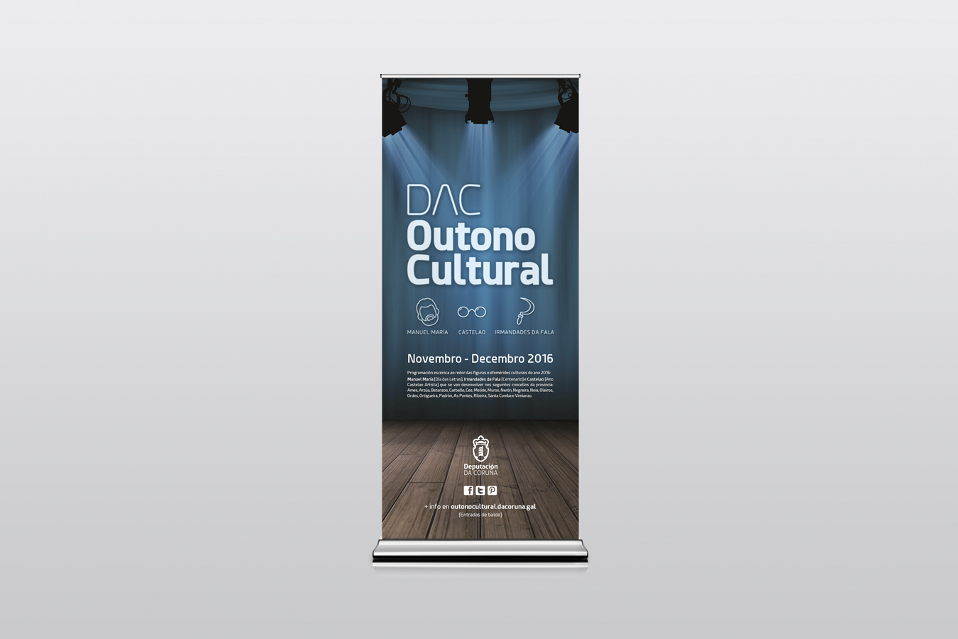 DAC OUTONO CULTURAL roll up