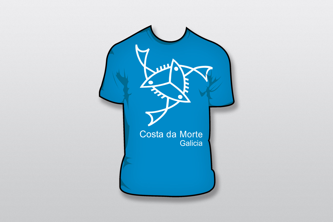 COSTA DA MORTE Un mar de vida - camiseta